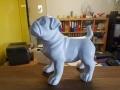 animaux en résine design prêts a peindre 071