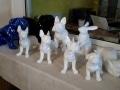 animaux en résine design prêts a peindre 098