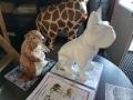 animaux en résine design prêts a peindre 102