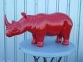 rhinocéros en résine design 005