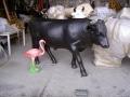 taureau boeuf en résine design 035