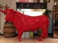 taureau boeuf  en résine A1779 design 005