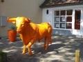 taureau boeuf en résine A1779 design 007