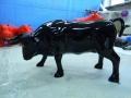 taureau boeuf en résine design 025