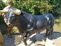taureau  en résine A1779 design 008