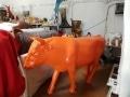 taureau  en résine A954 design 019