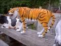 tigre en résine classique 003