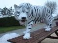 tigre-en-resine-classique-blanc-D20-019