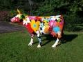 vache FR26 flower en résine design 006