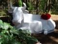 vache banc FR55  en résine design 148
