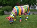 vache en résine FR28 design 060
