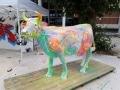 vache en résine L10 design 054
