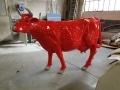 vache en résine L6 design 020