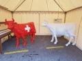 vache en résine L6 design 024