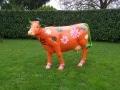 vache en résine L6 design 056