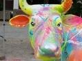 vache en résine L6 design 080