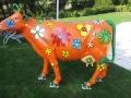 vache en résine L6 design 114
