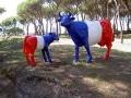 vache en résine  L6 et A423design 119