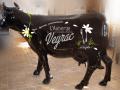 vache en résine design 150
