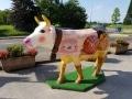 vache en résine style boulangerie design 044