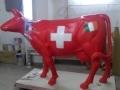 vache en résine
