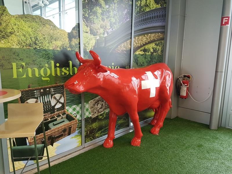 vache en résine FR26 design 063