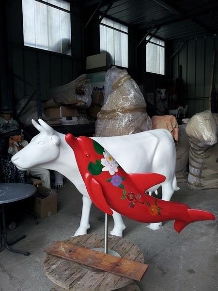 vache en résine FR26design 137