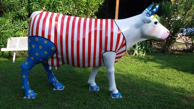 vache en résine FR26design 152