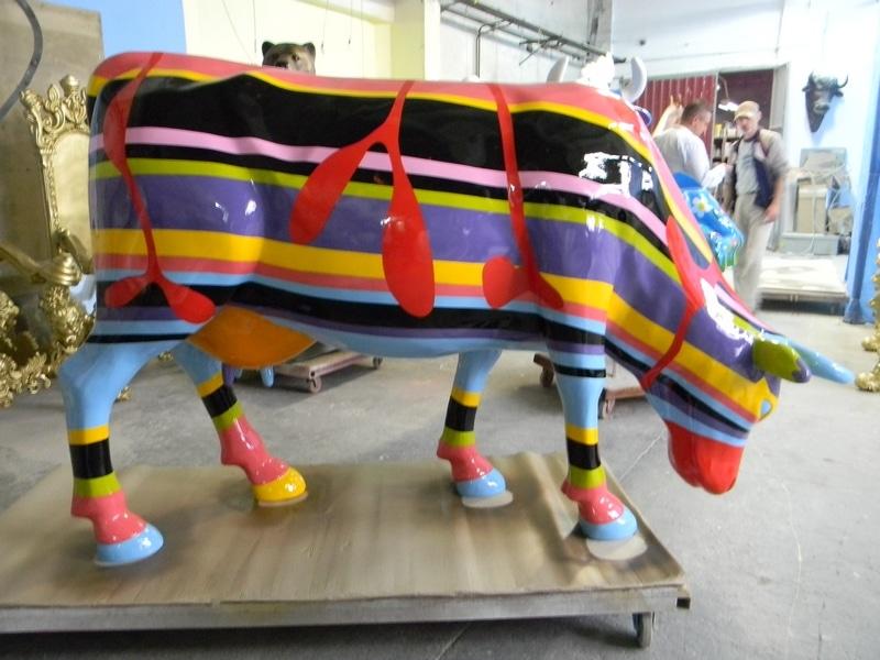 vache en résine FR28design 155