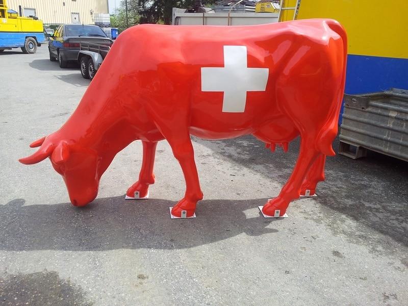 vache en résine FR52design 098
