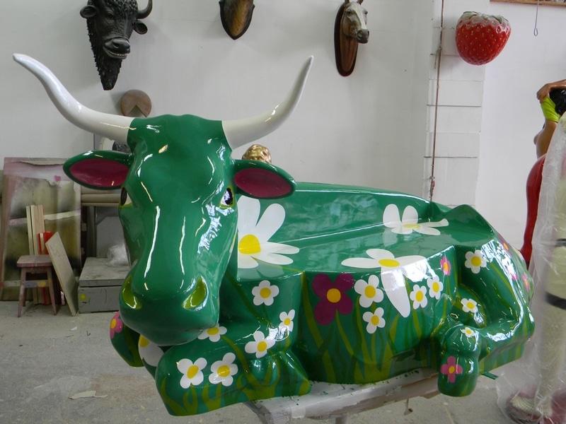 vache en résine FR55design 141