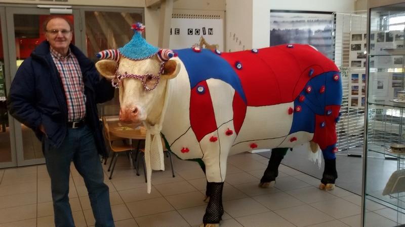 vache en résine charolaisedesign 029