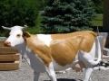 vache  en résine classique   008