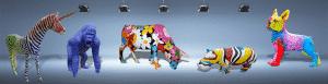animaux en resine design