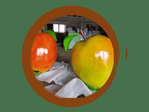 thème pomme fruits