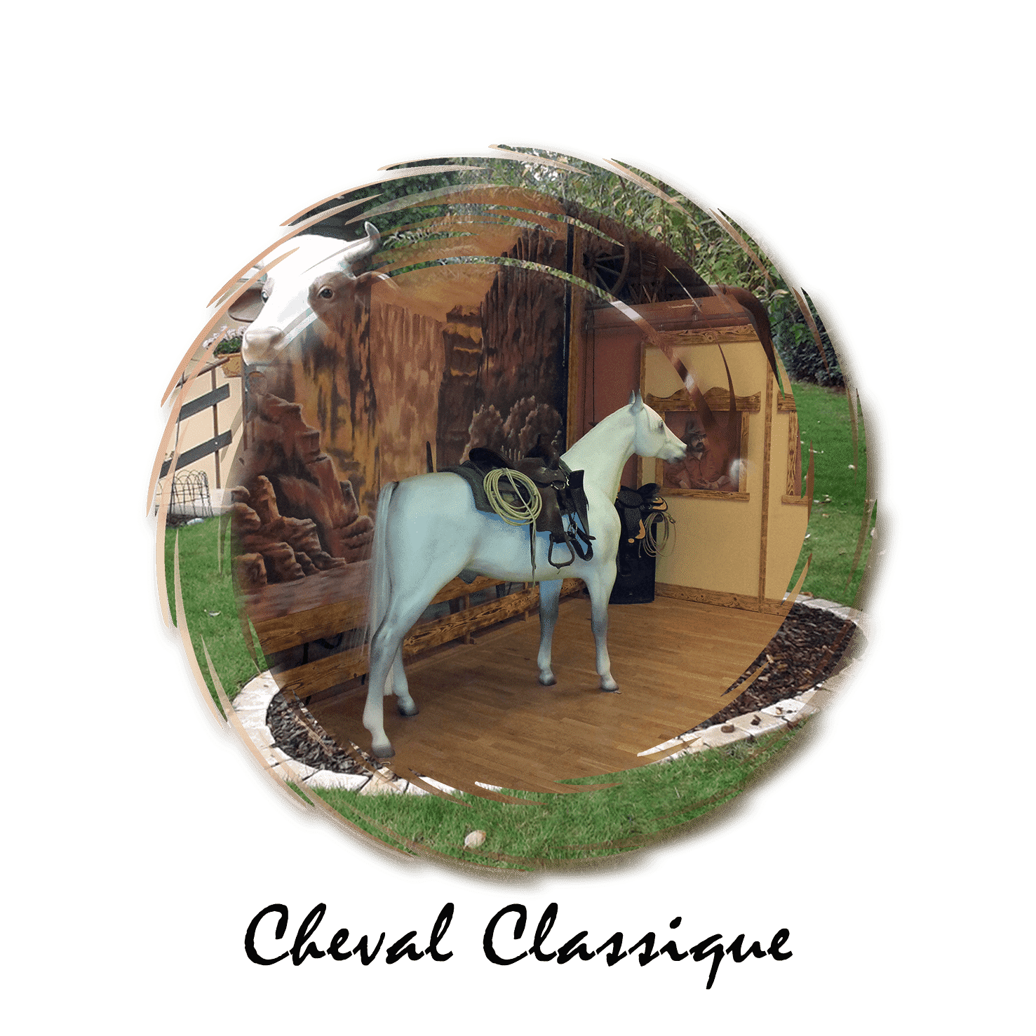 cheval classique
