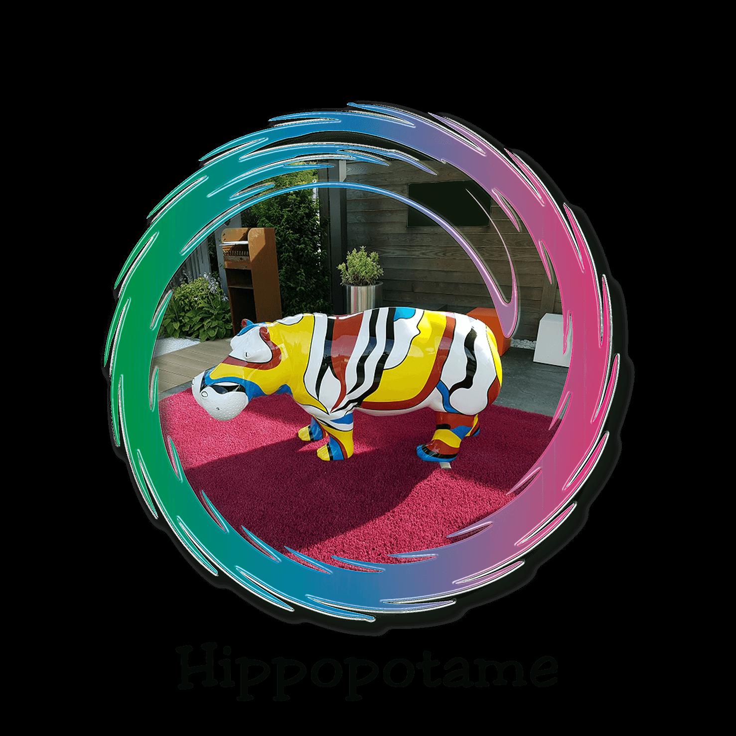 hippopotame design