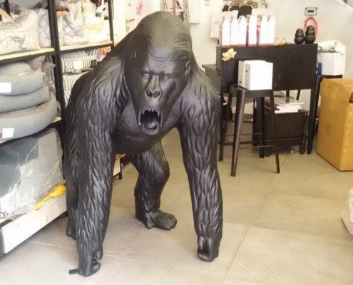 Gorille en resine design