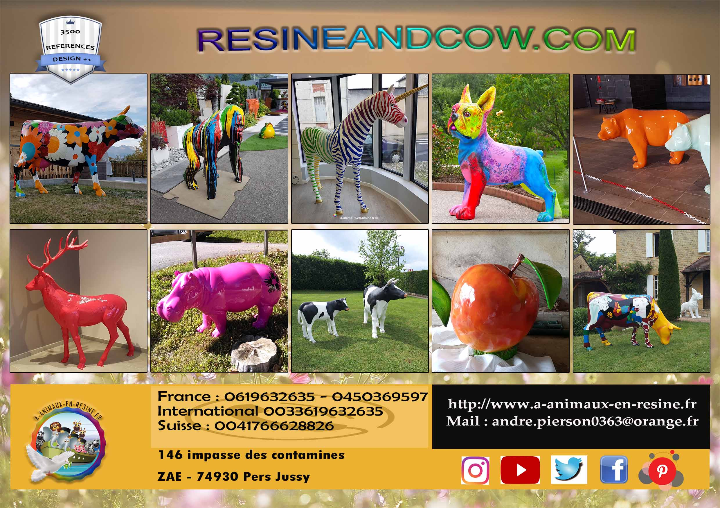 FLYER RESINEANDCOW 2019