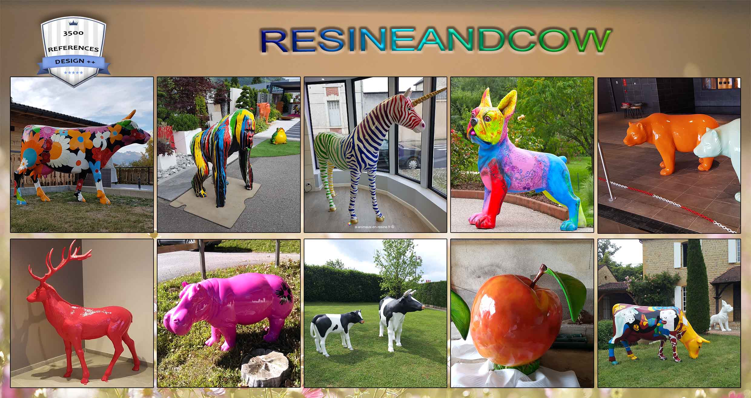 RESINEANDCOW